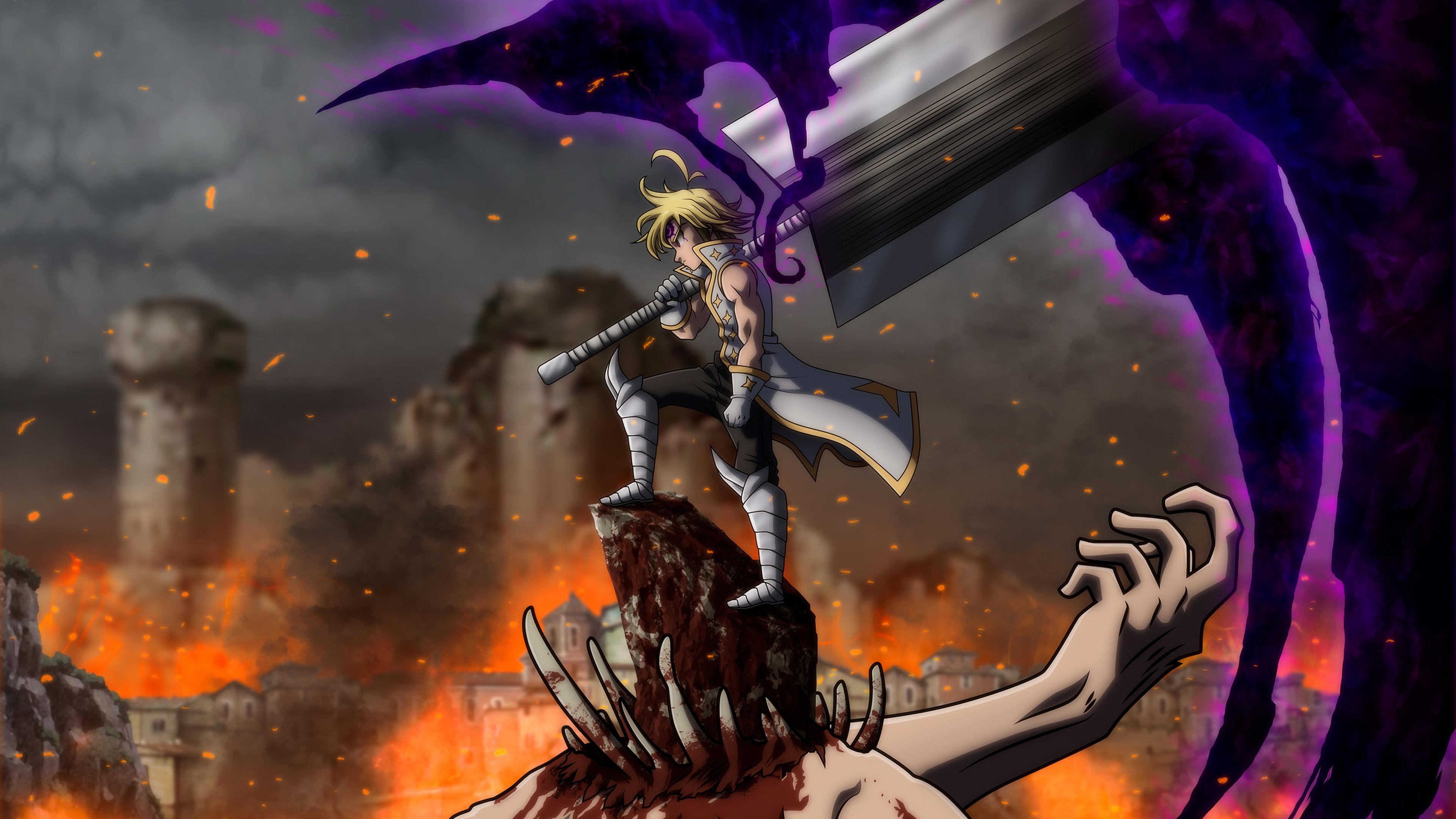Medliodas Demon King 4k Ultra Hd Wallpaper Background