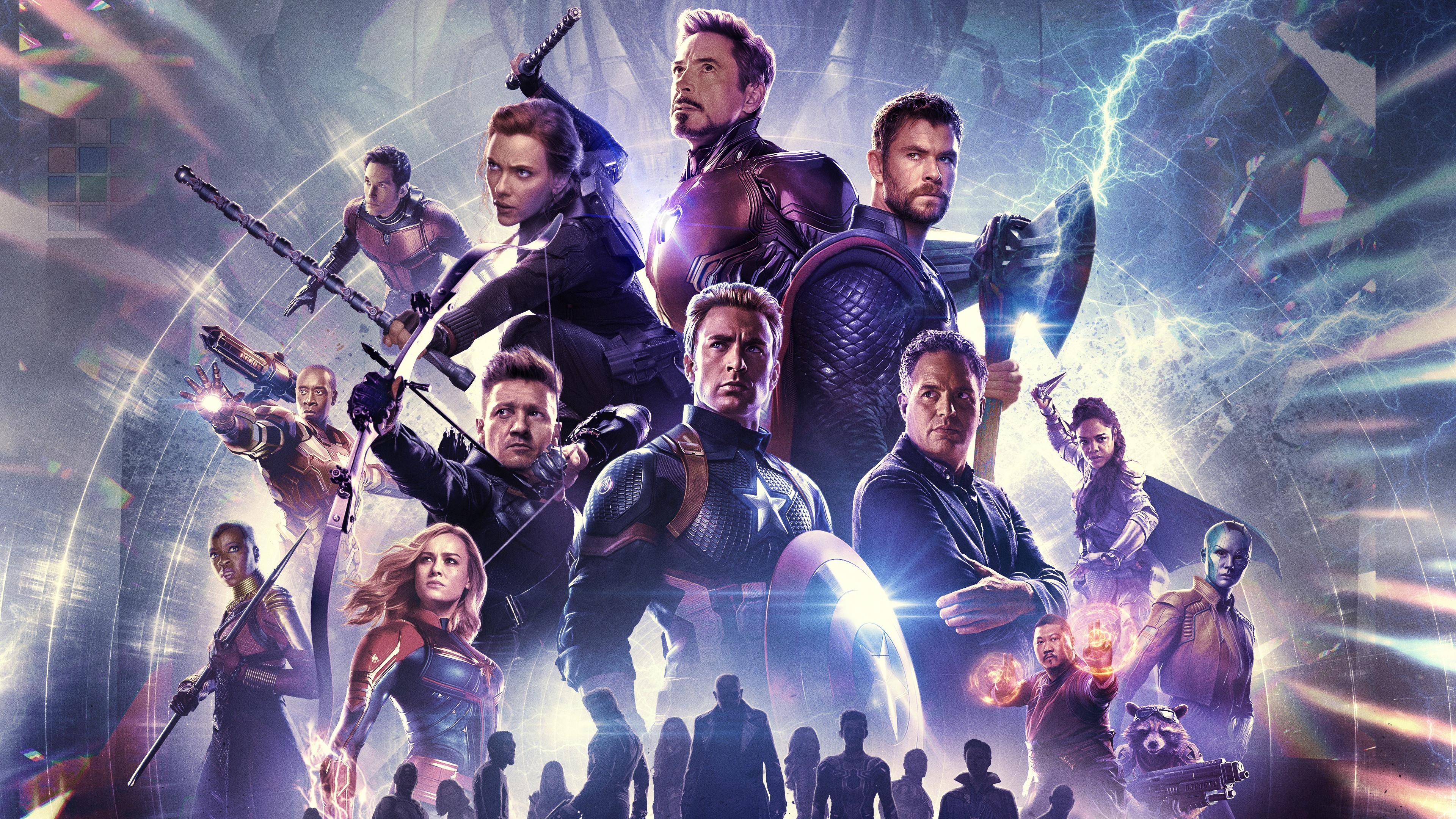 Bi56 Captain America Avengers Endgame Hero Film Marvel Art Wallpaper