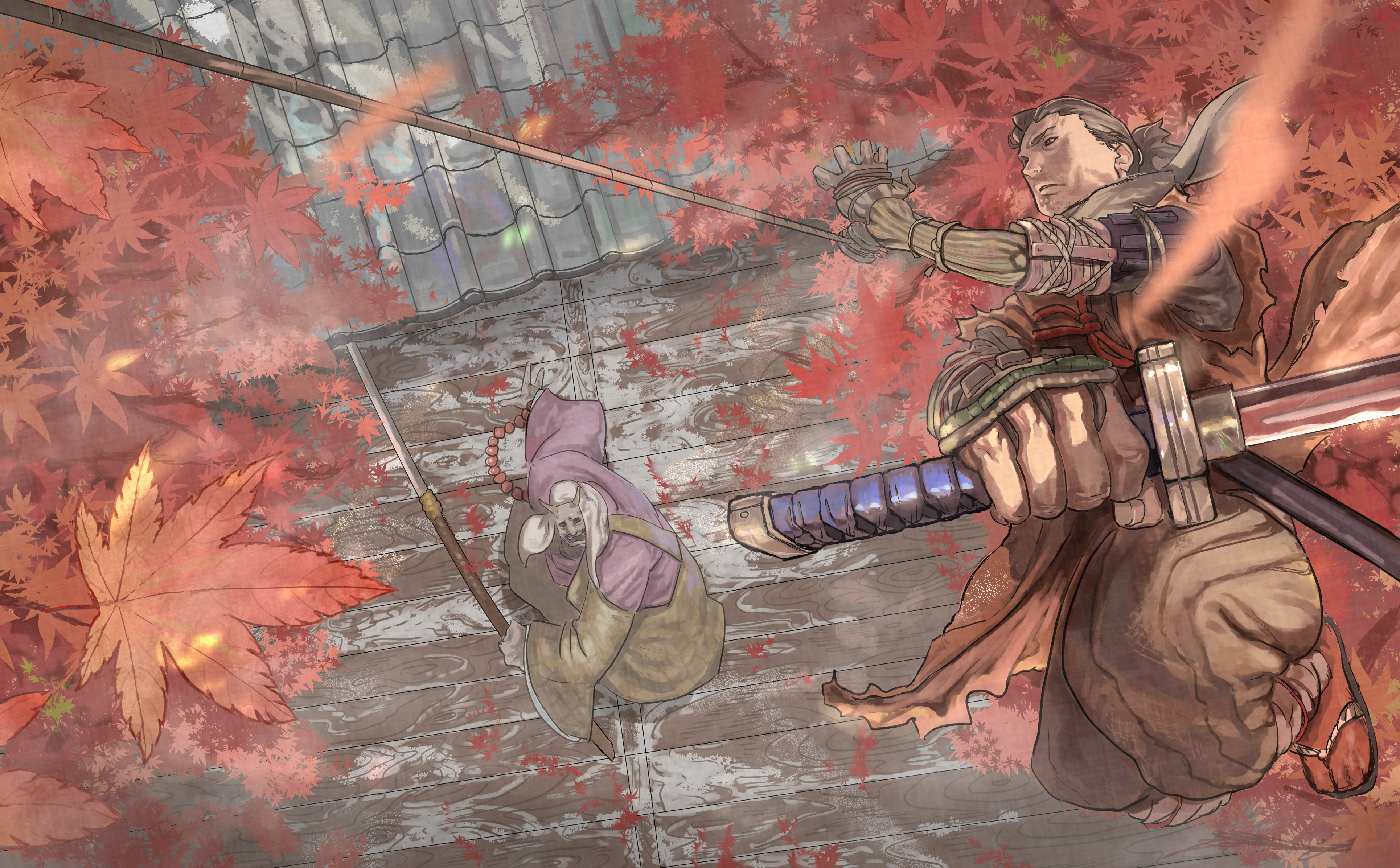 Sekiro Shadows Die Twice 4k Ultra Hd Wallpaper Background Image