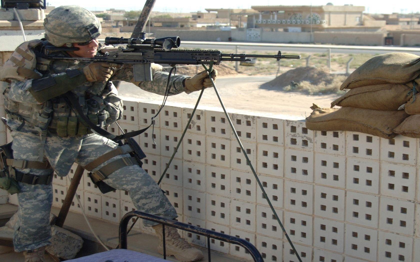 Militär - Scharfschütze  - Supersnipersal - Army Hintergrundbild