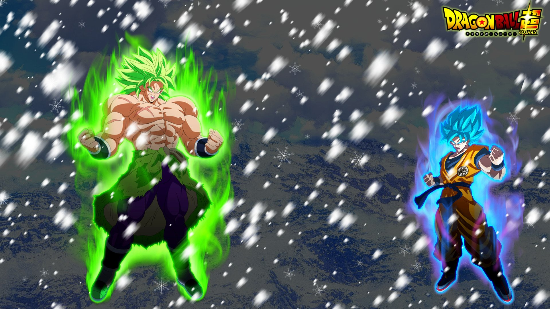 Goku Vs Broly Hd Wallpaper Background Image 1920x1080 Id 1000256 Wallpaper Abyss