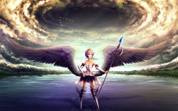 Fantasy - Angel Wallpapers and Backgrounds ID : 100071