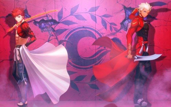 Anime Fate/Grand Order Fate Series Shirou Emiya Archer Saber Sengo Muramasa HD Wallpaper | Background Image