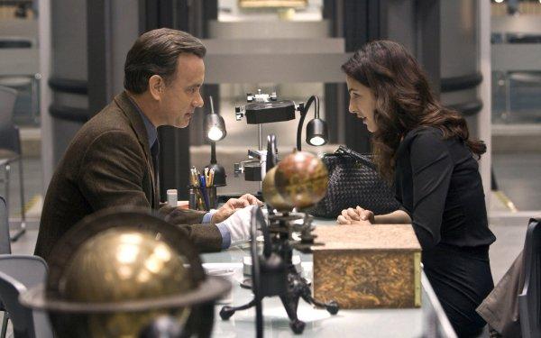 Movie Angels & Demons Tom Hanks Ayelet Zurer HD Wallpaper   Background Image