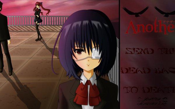 Anime Another Kouichi Sakakibara Mei Misaki Izumi Akazawa HD Wallpaper | Background Image