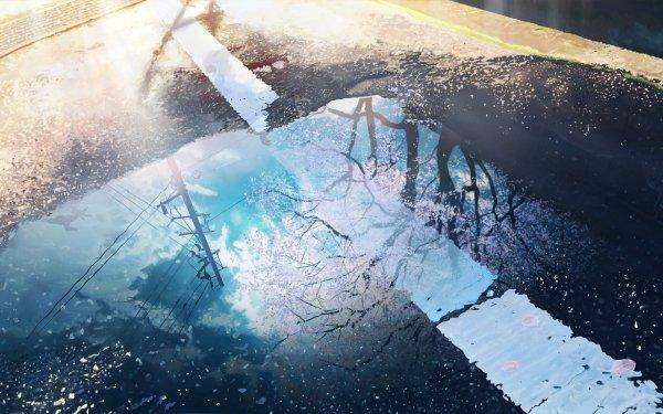 Anime Original Road HD Wallpaper | Background Image
