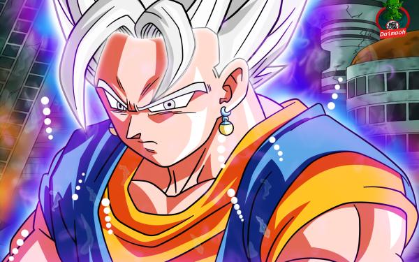 Anime Dragon Ball Super Dragon Ball Vegito Vegetto Ultra Instinct HD Wallpaper | Background Image