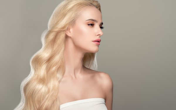 Women Model Models Woman Blonde Long Hair HD Wallpaper | Background Image