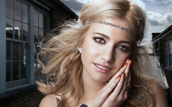 Music Pixie Lott  Singers United Kingdom Blonde Singer Brown Eyes HD Wallpaper | Background Image