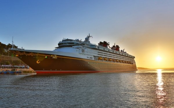 Vehicles Cruise Ship Cruise Ships Disney Magic HD Wallpaper | Background Image