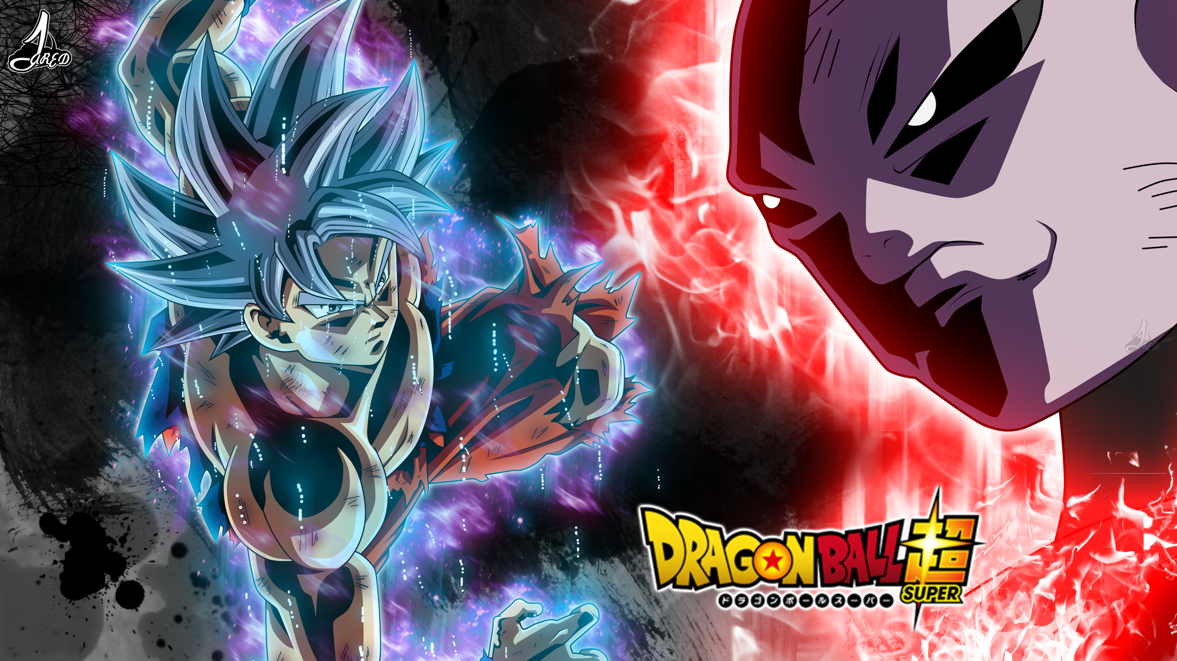 Goku Vs Jiren Hd Wallpaper Background Image 2366x1330 Id