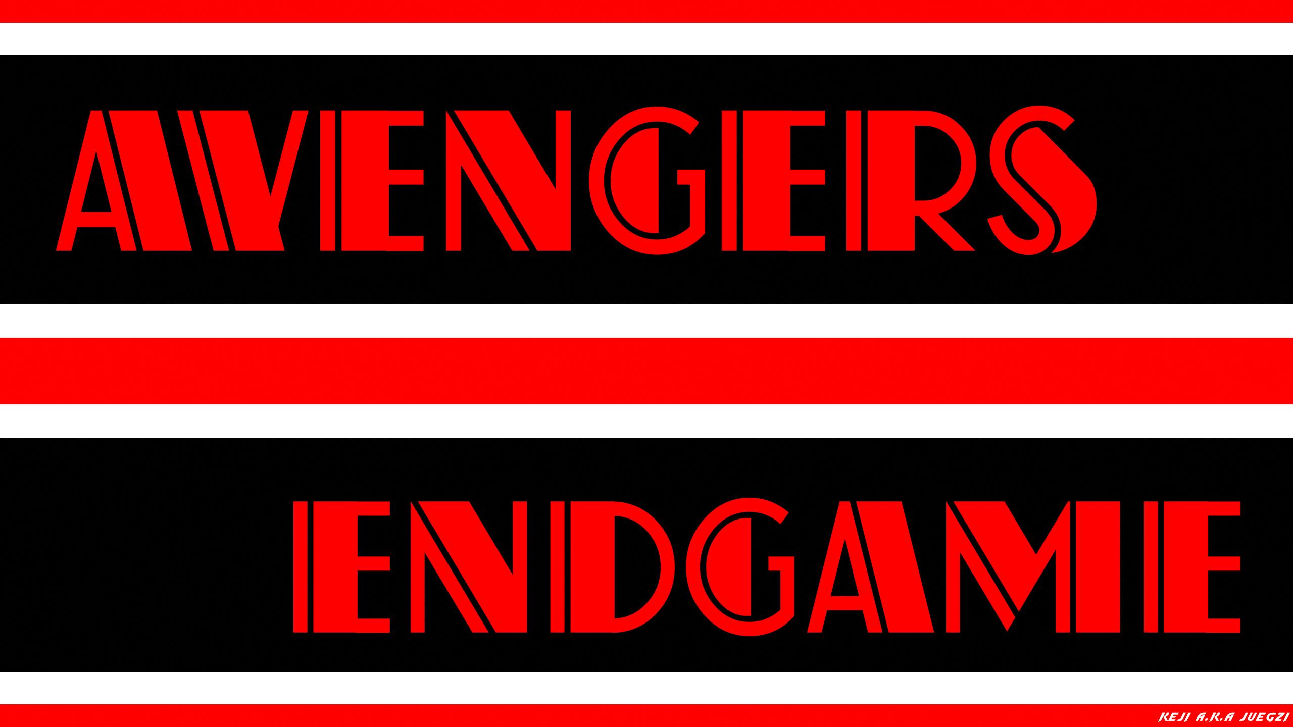 Avengers Endgame Text Fond Décran Hd Arrière Plan
