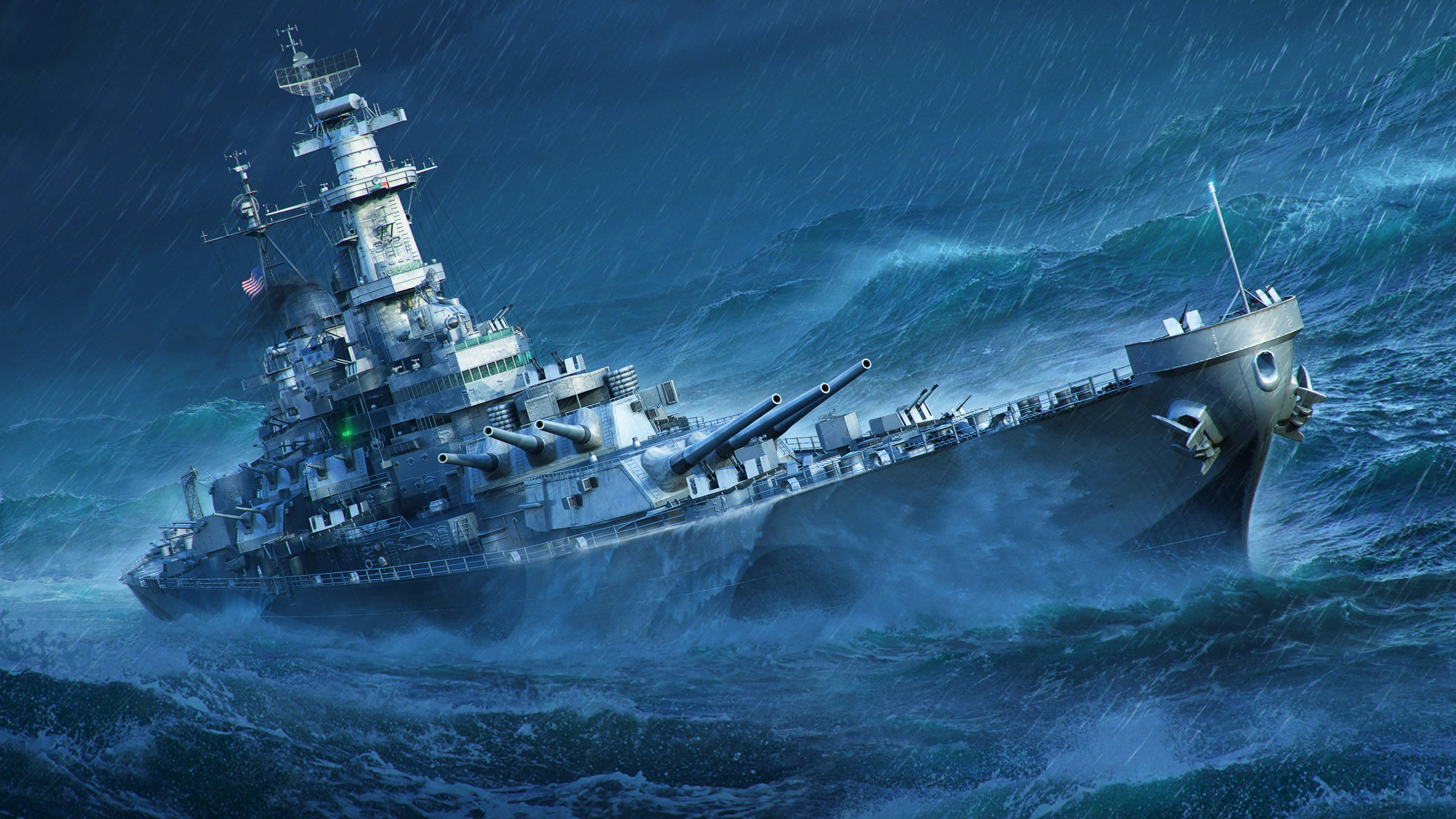 World of Warships HD Wallpaper   Background Image   2560x1440   ID:1012203 - Wallpaper Abyss