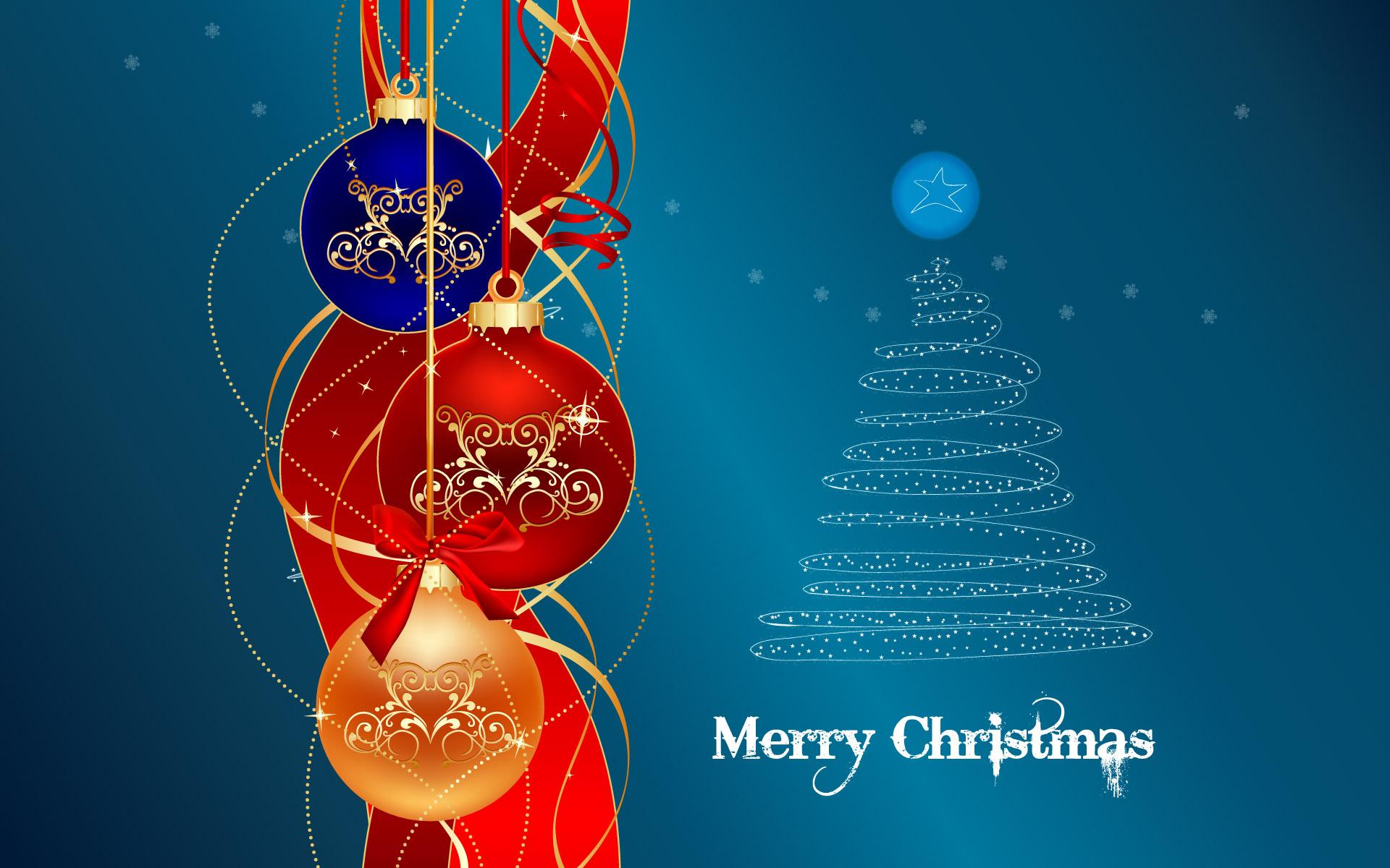 Holiday - Christmas  Merry Christmas Christmas Tree Christmas Ornaments Wallpaper
