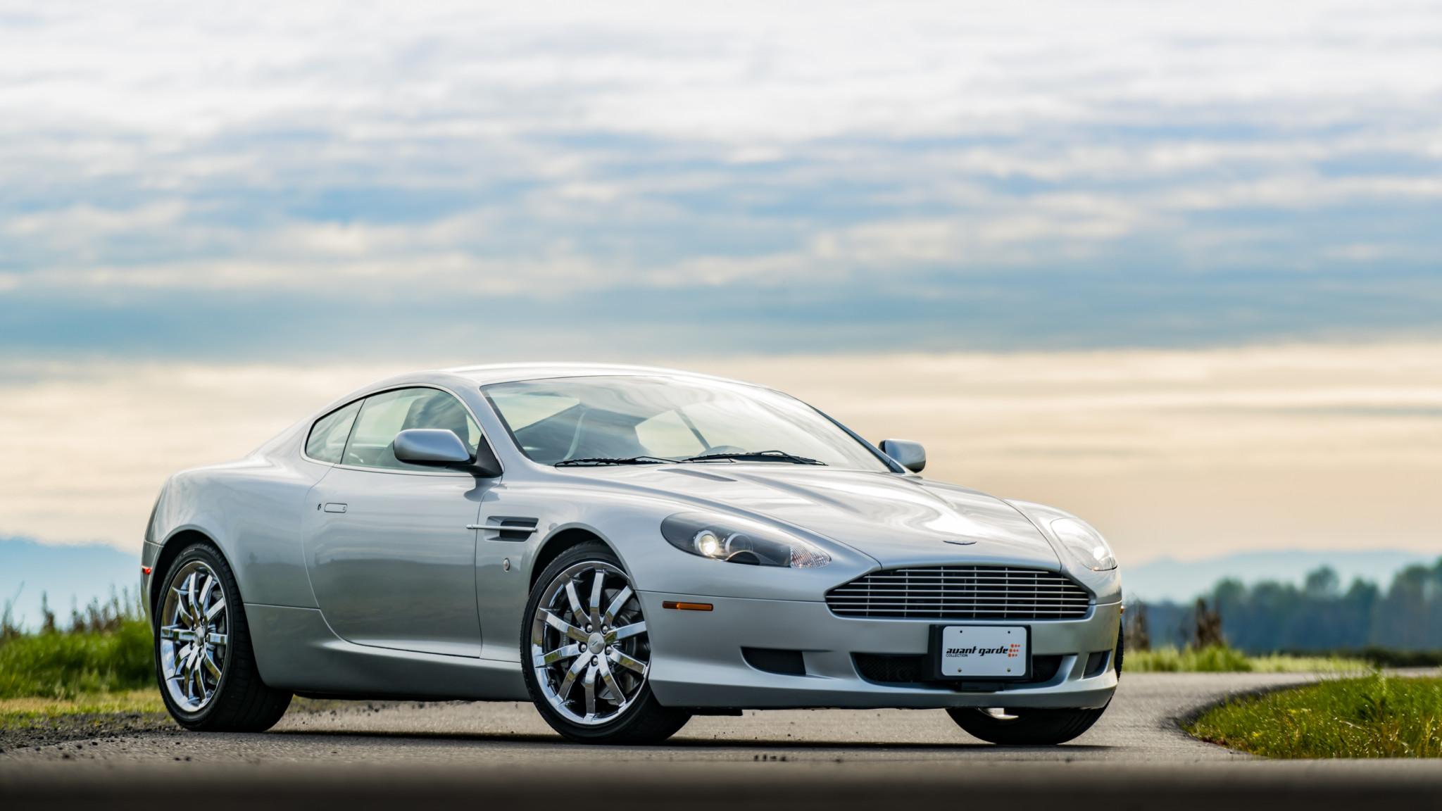 2005 Aston Martin Db9 Coupe Papel De Parede Hd Plano De Fundo 2048x1152 Id 1015047 Wallpaper Abyss