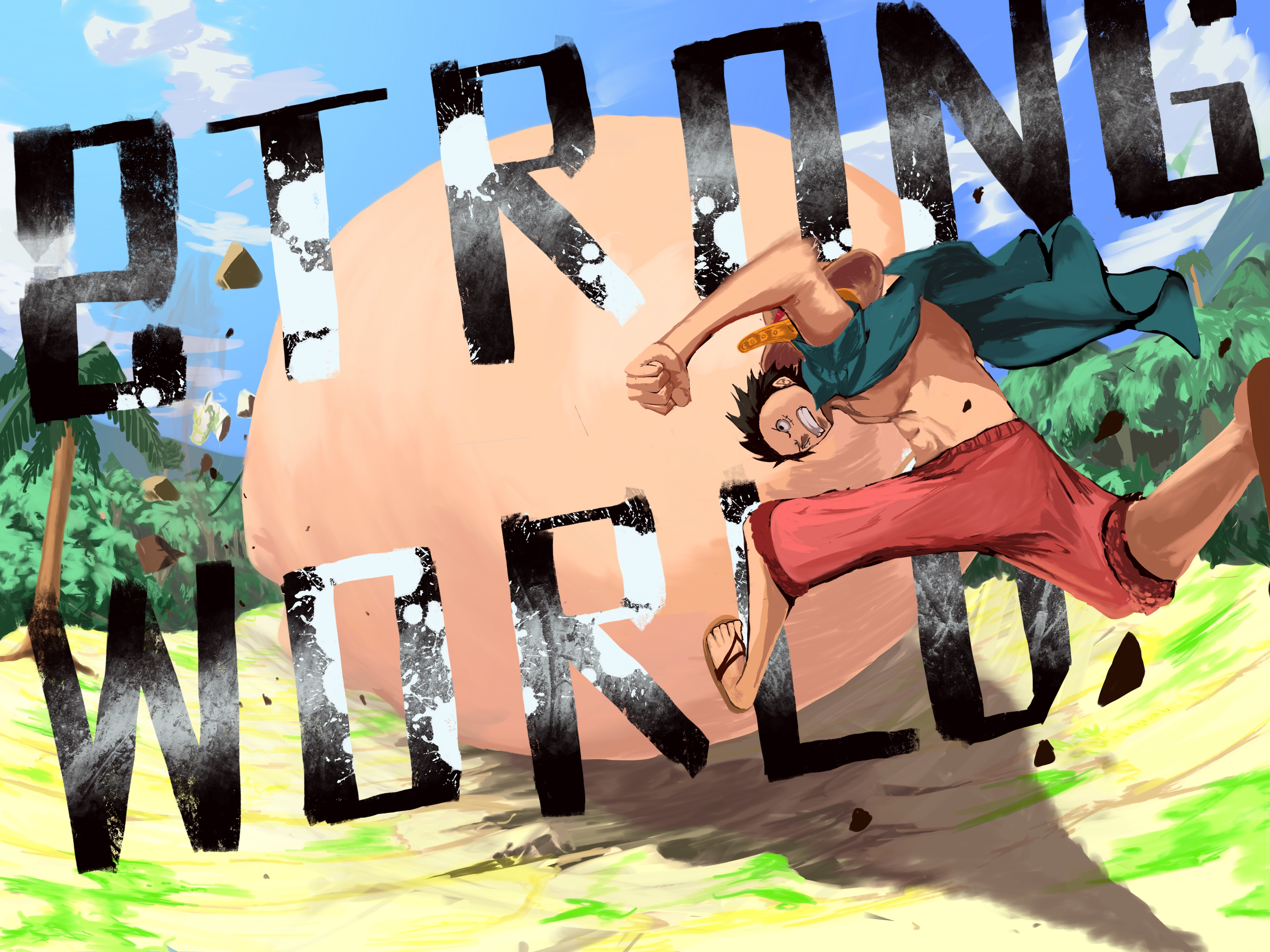One Piece 4k Ultra Hd Wallpaper Background Image 4667x3500