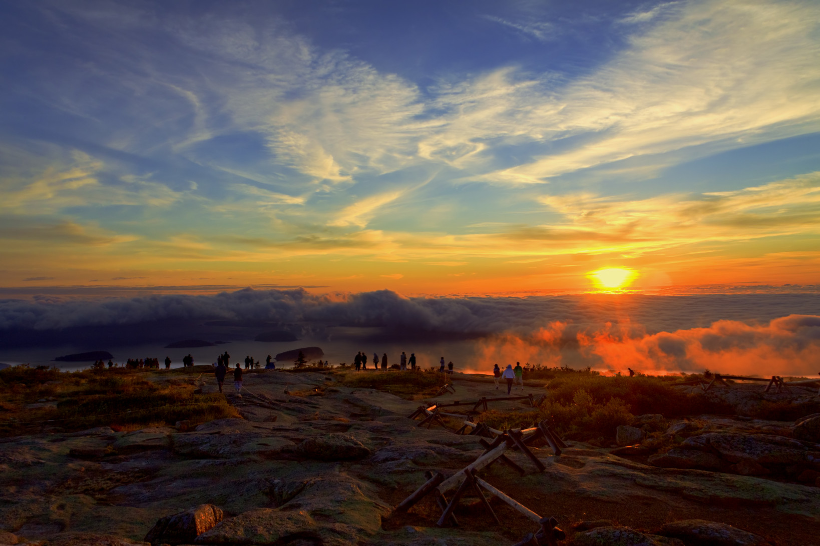 Cadillac Mountain Sunrise Wallpaper and Background ...