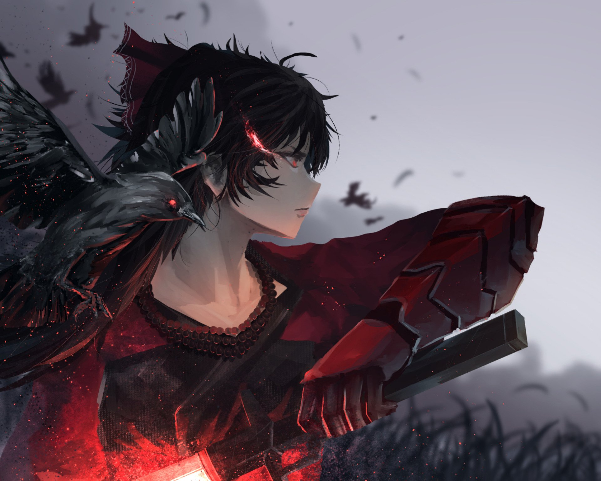 5 Raven Branwen Hd Wallpapers Background Images Wallpaper Abyss Had the audacity to show up on my doorstep. 5 raven branwen hd wallpapers