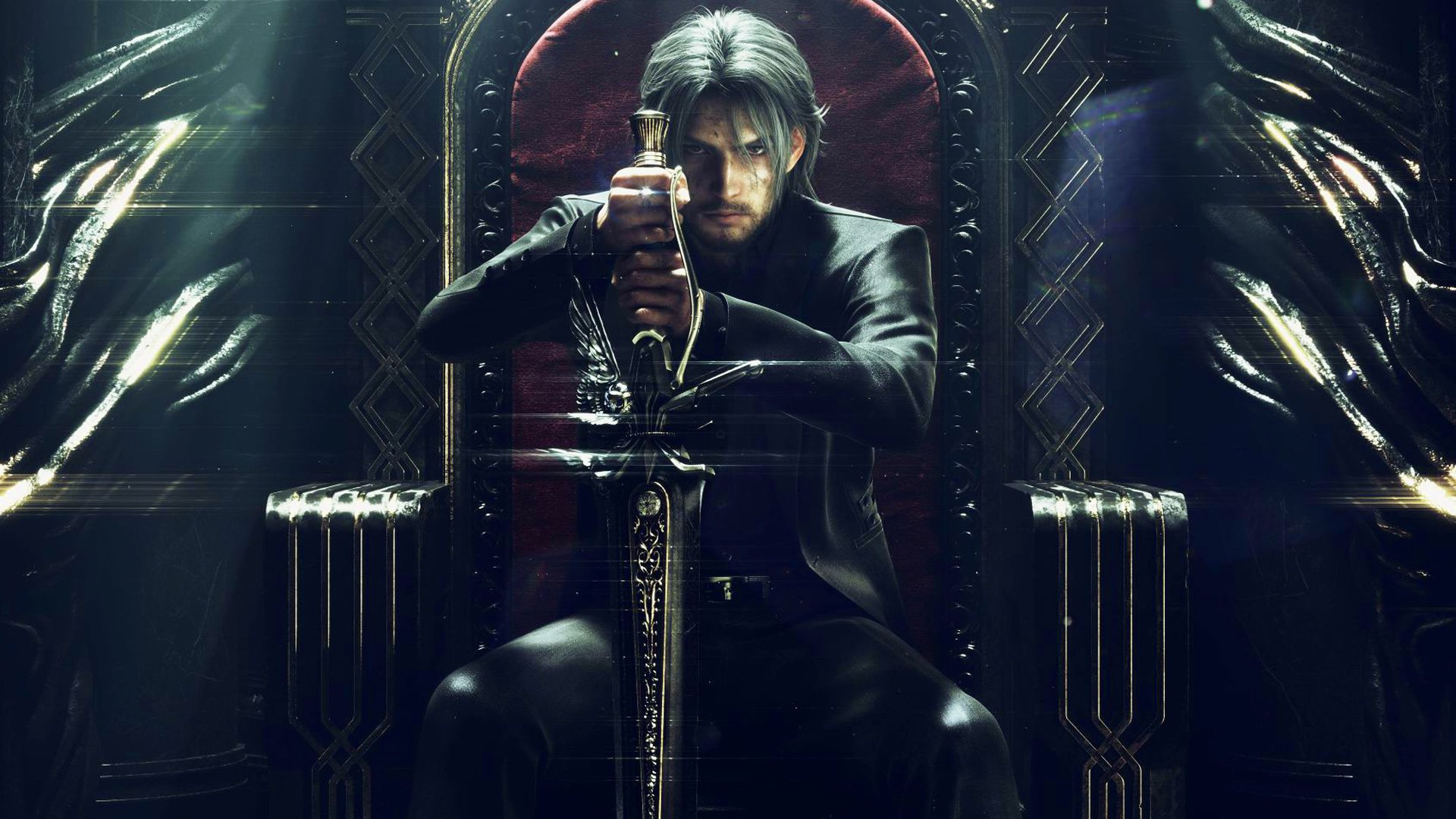 Final Fantasy Xv Old Noctis Hd Wallpaper Background Image