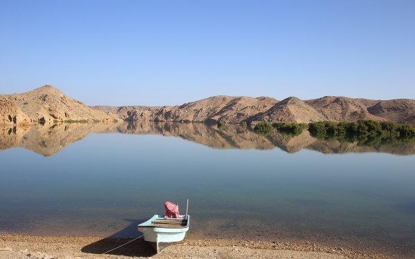 Vehicles Boat Lake Reflection HD Wallpaper | Background Image