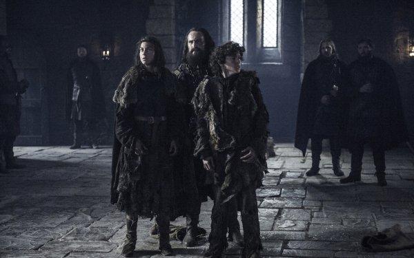 TV Show Game Of Thrones Osha Rickon Stark Art Parkinson Natalia Tena HD Wallpaper | Background Image