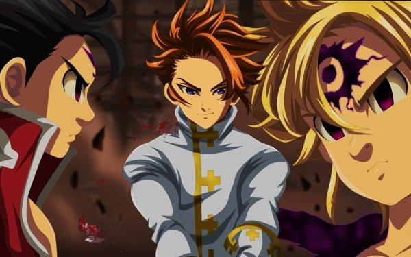 Anime The Seven Deadly Sins Meliodas Zeldris Arthur Pendragon HD Wallpaper   Background Image