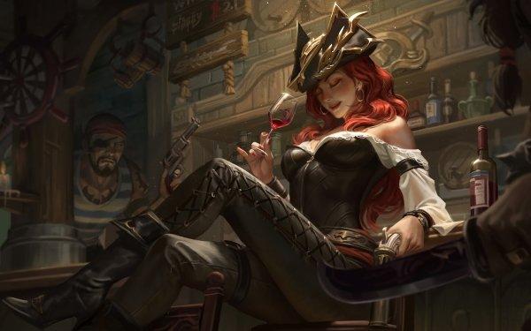 Videojuego League Of Legends Miss Fortune Fondo de pantalla HD   Fondo de Escritorio