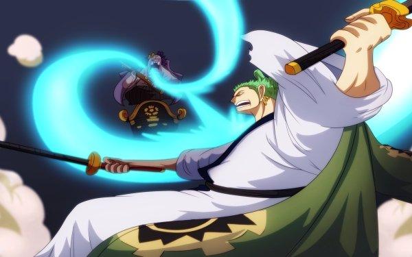 Anime One Piece Roronoa Zoro HD Wallpaper   Background Image