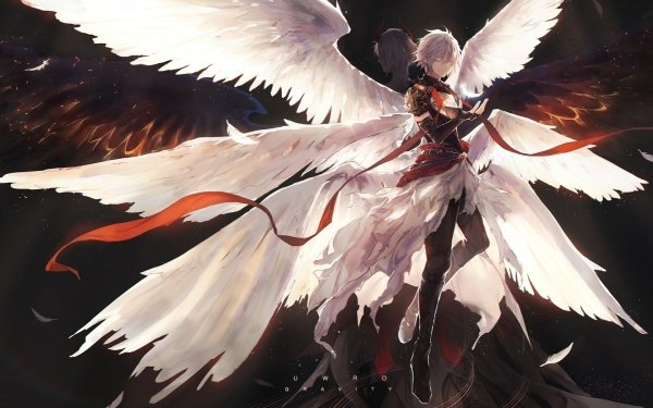Anime Rage of Bahamut: Genesis Lucifer Granblue Fantasy HD Wallpaper   Background Image