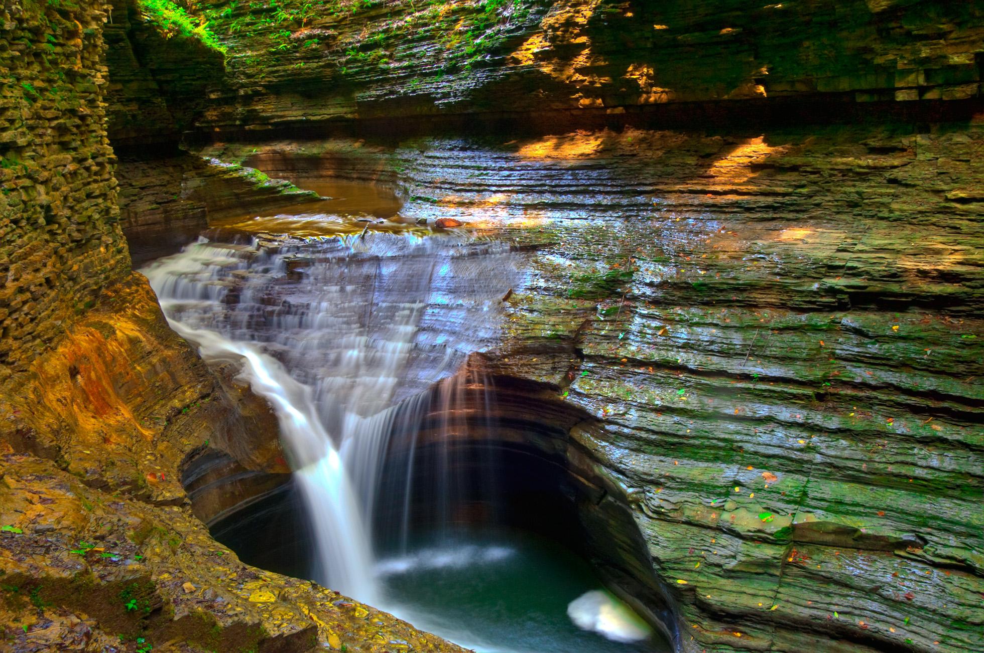 Watkin Glens State Park Hd Wallpaper Background Image