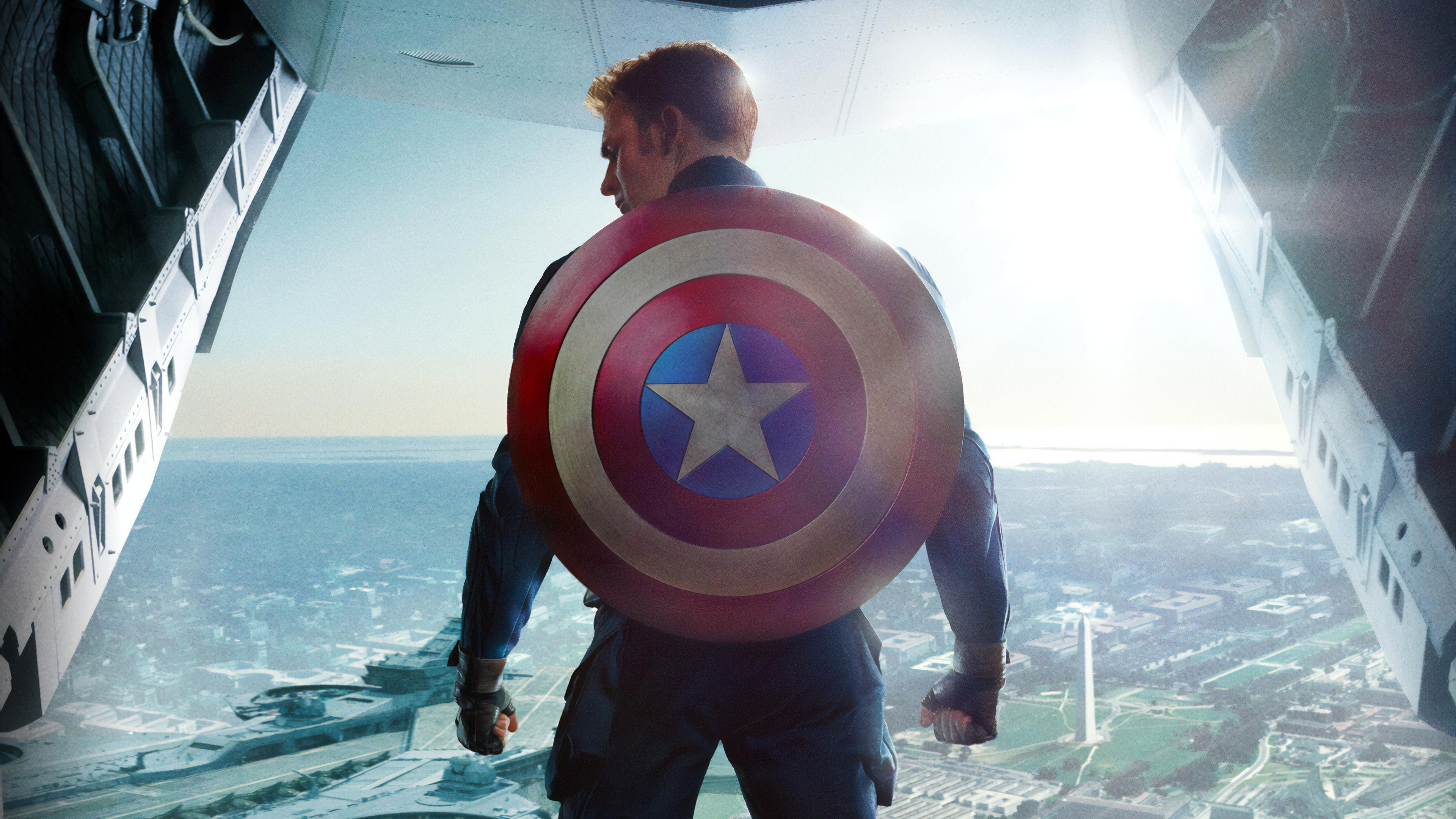 Captain America The Winter Soldier 4k Ultra Hd Wallpaper