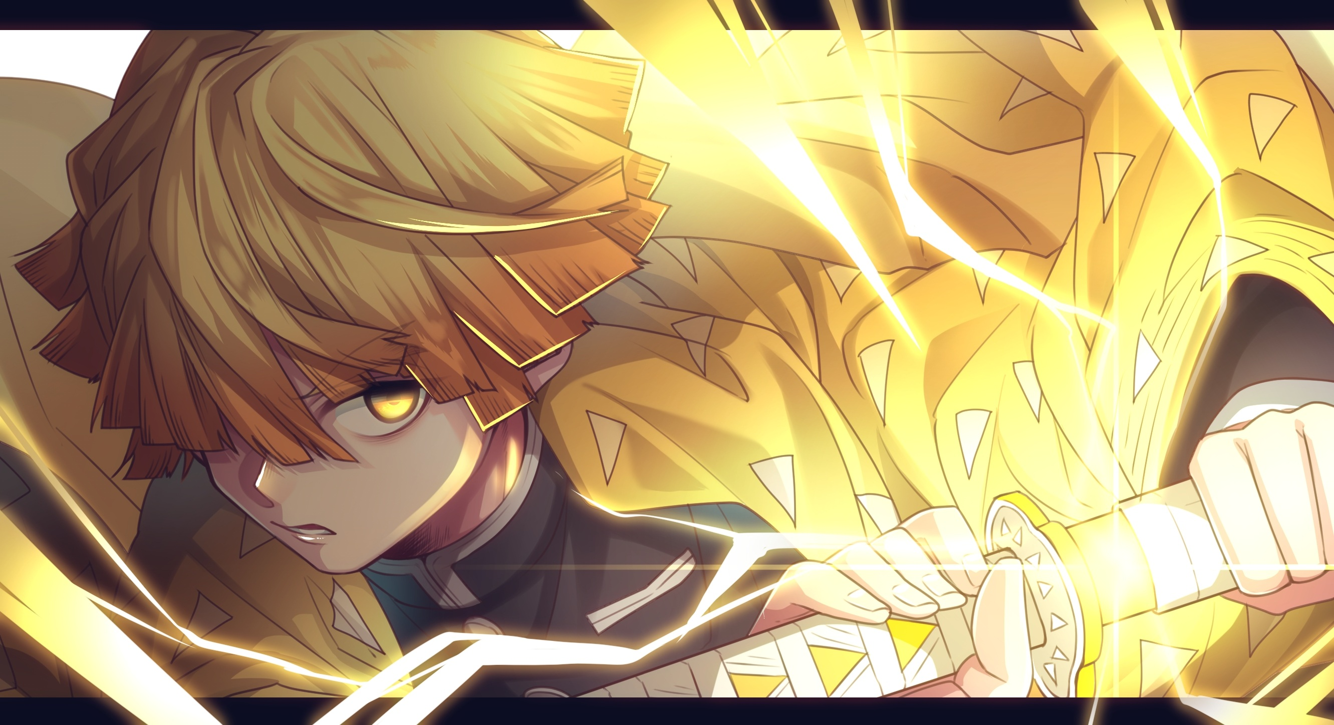 Get Anime Live Wallpaper Zenitsu Gif - jasmanime