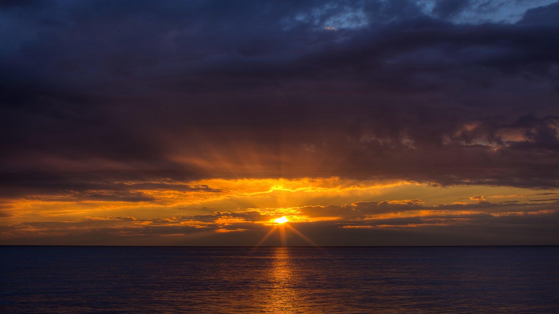 Terre/Nature - Coucher de Soleil  Fond d'écran