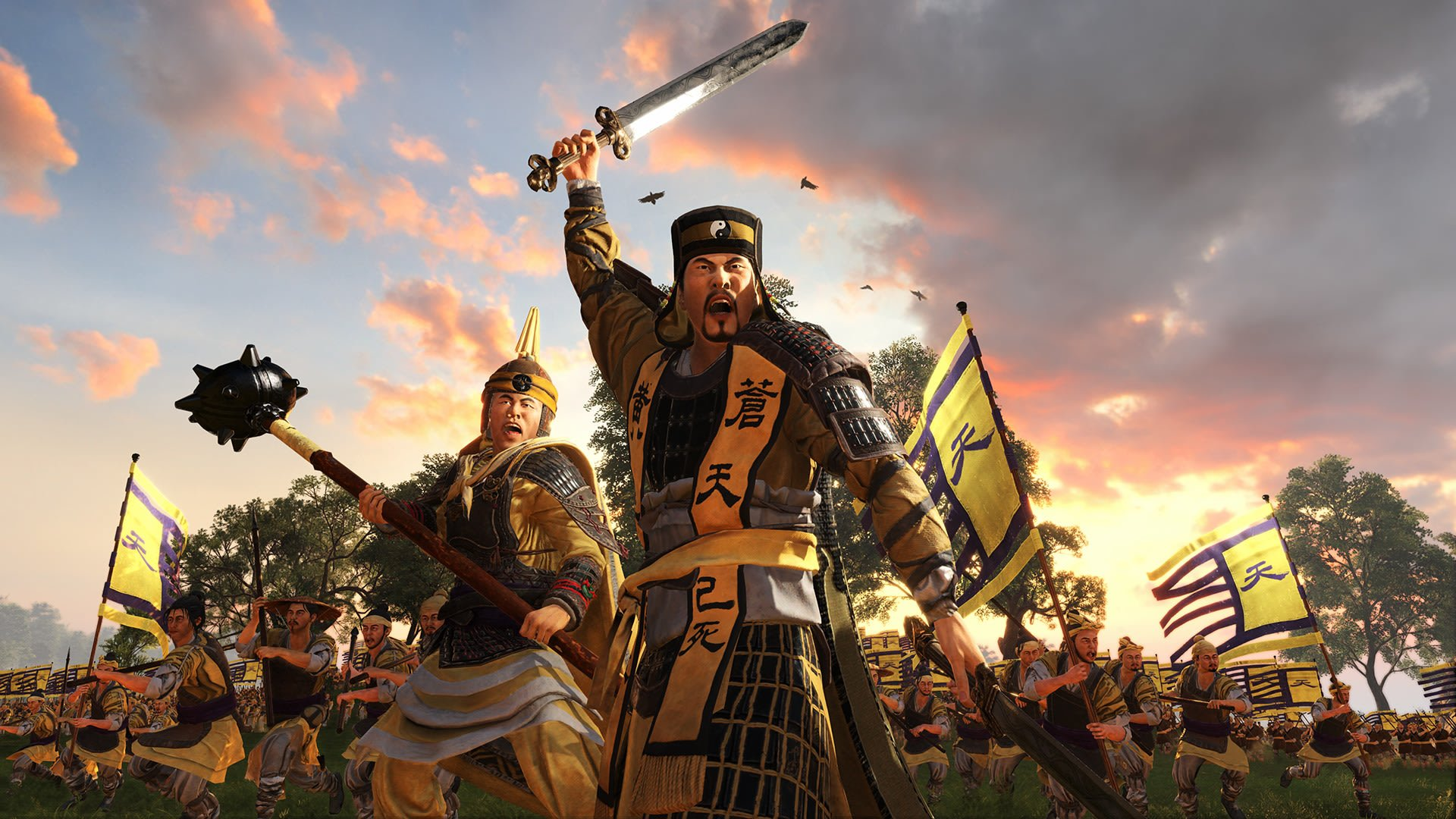 Total War Three Kingdoms Hd Wallpaper Background Image
