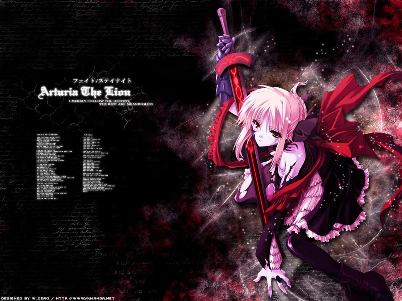 Anime - Fate/Stay Night  Knight Saber Alter Wallpaper