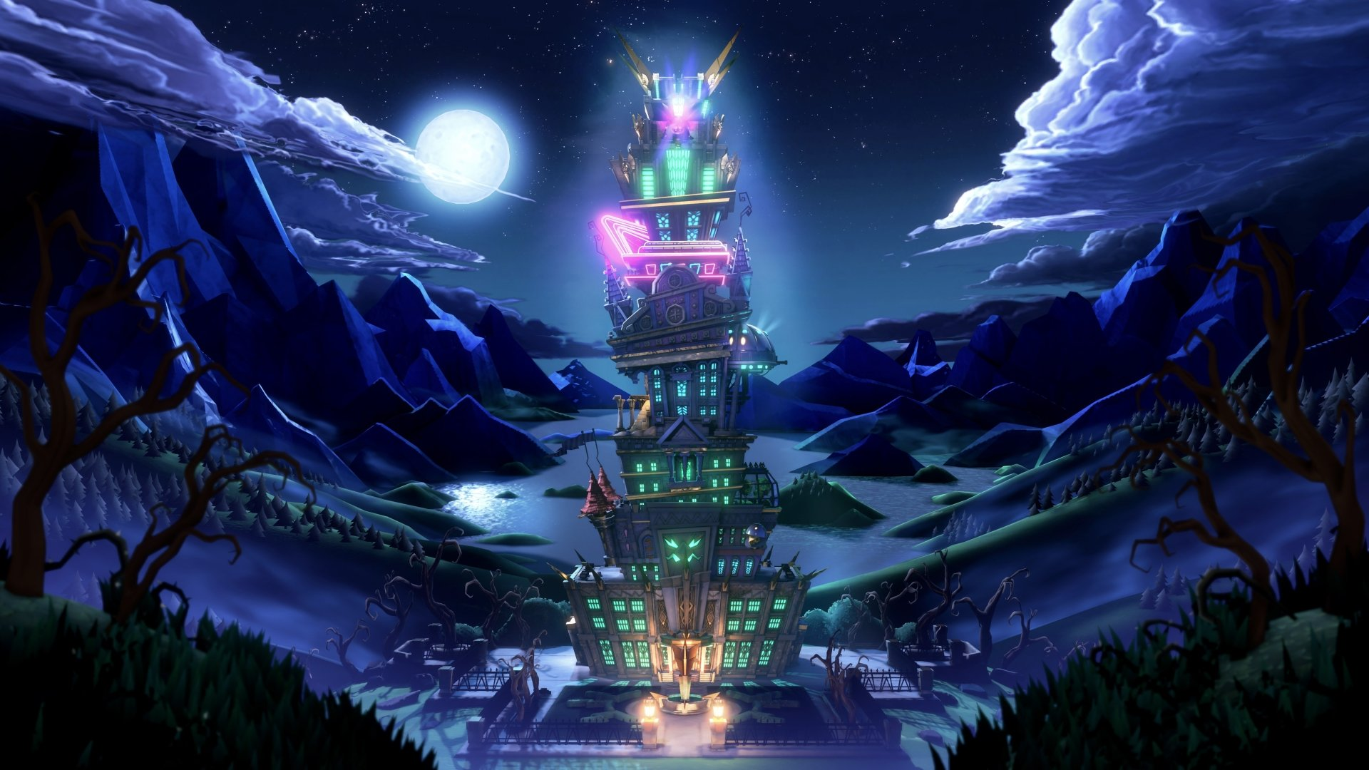 2 Luigi S Mansion 3 Hd Wallpapers Background Images
