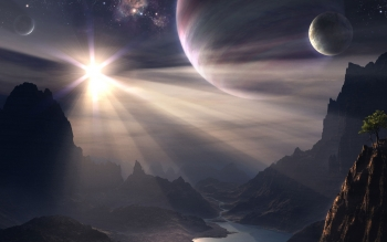 Sci Fi - Landscape Wallpapers and Backgrounds ID : 102591