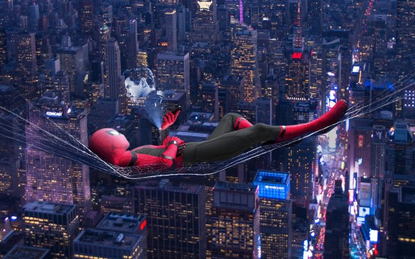 Movie Spider-Man: Far From Home Spider-Man Tony Stark HD Wallpaper   Background Image