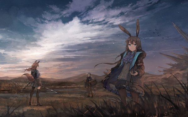 Video Game Arknights HD Wallpaper   Background Image