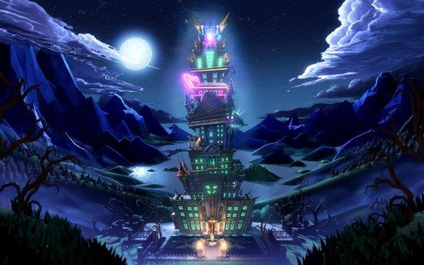 Video Game Luigi's Mansion 3 Hotel HD Wallpaper | Background Image