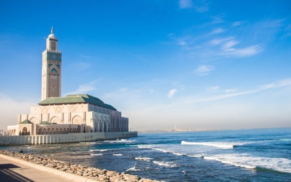 Religious Mosque Mosques Morocco Building HD Wallpaper   Background Image