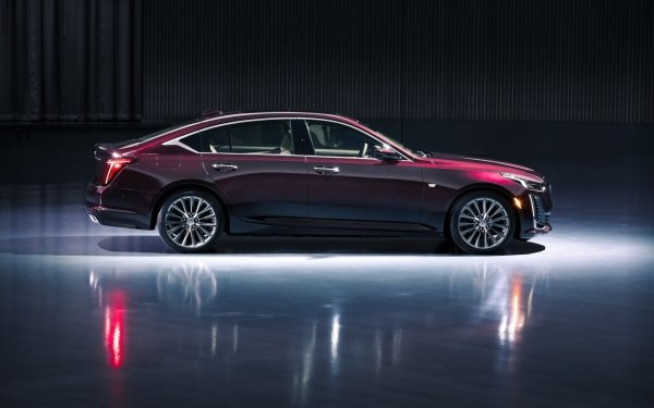 Véhicules Cadillac CT5 Cadillac Voiture Luxury Car Purple Car Fond d'écran HD | Image
