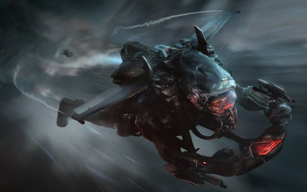 Sci Fi Men Suit Jetpack HD Wallpaper | Background Image