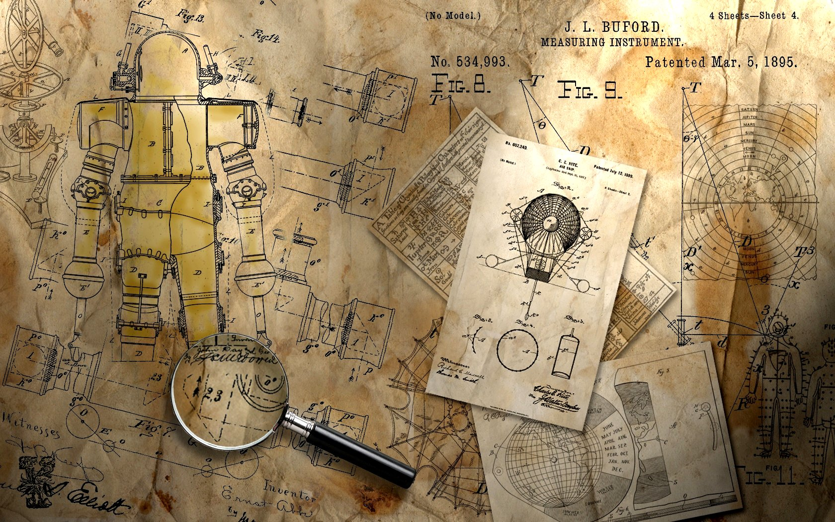 Steampunk wallpaper and background image 1680x1050 id103011 sci fi steampunk wallpaper malvernweather Images