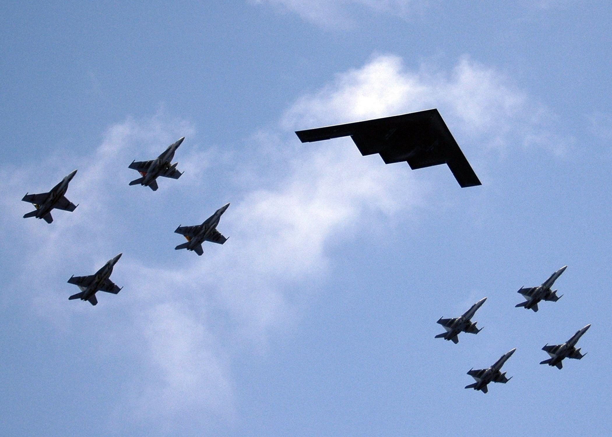 Militär - Air Show  Hintergrundbild