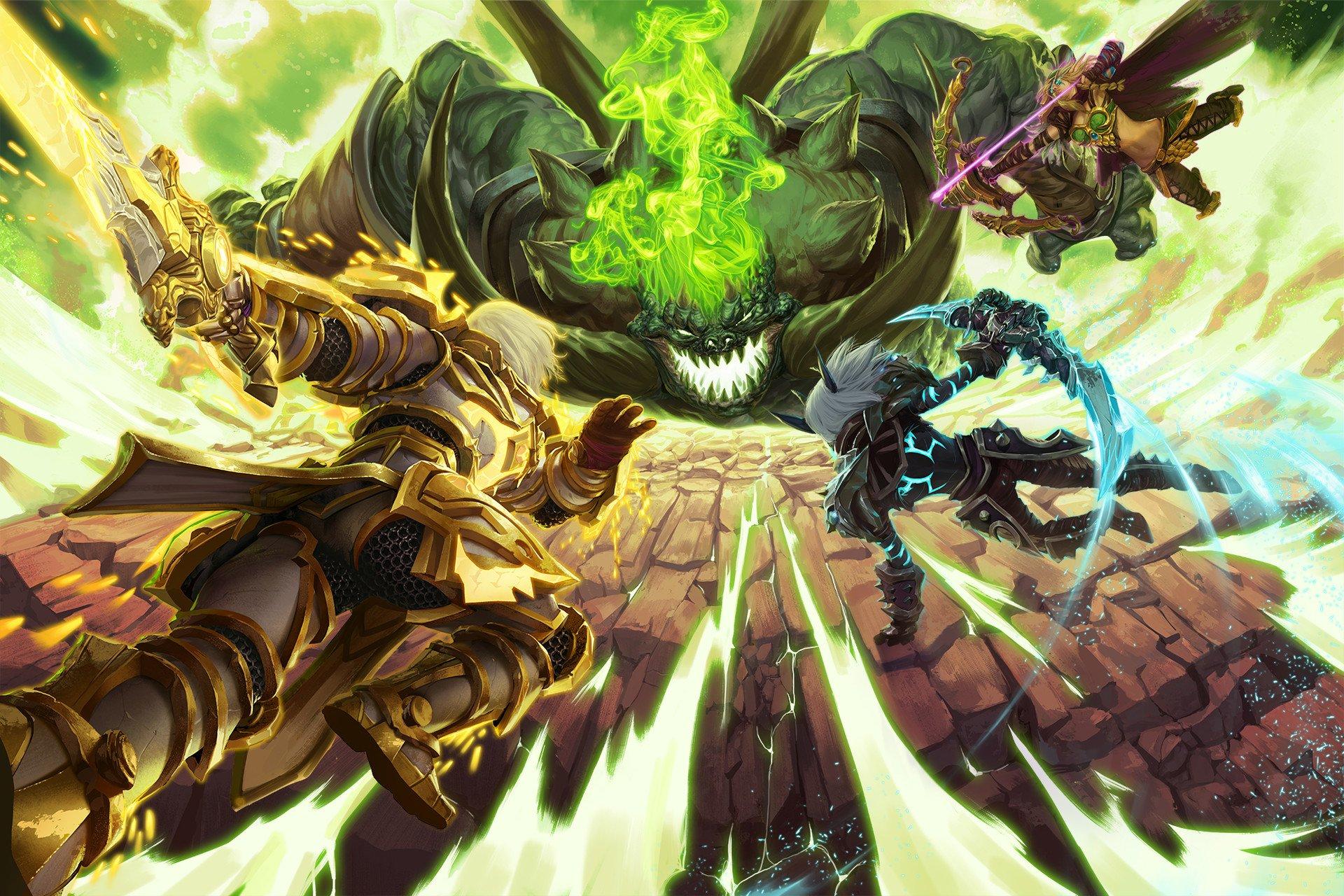 World Of Warcraft Legion Hd Wallpaper Background Image