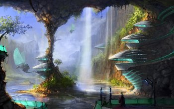 Science-Fiction - Großstadt Wallpapers and Backgrounds ID : 103373