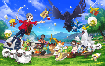36 Pokémon Sword And Shield Hd Wallpapers Background