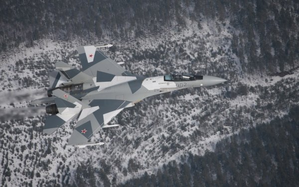 Military Sukhoi Su-35 Jet Fighters HD Wallpaper   Background Image