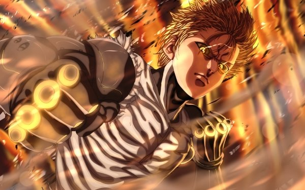 Anime One-Punch Man Genos HD Wallpaper   Background Image